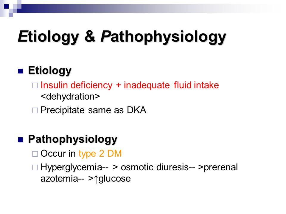 Etiology & Pathophysiology