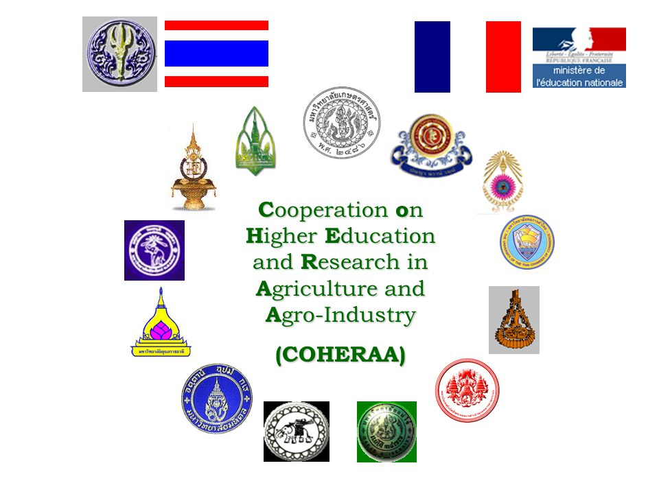Cooperation on Higher Education and Research in Agriculture and Agro-Industry