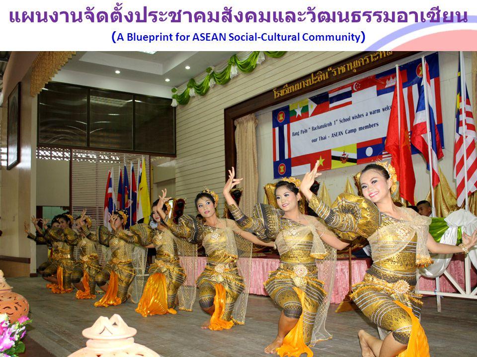 แผนงานจัดตั้งประชาคมสังคมและวัฒนธรรมอาเซียน