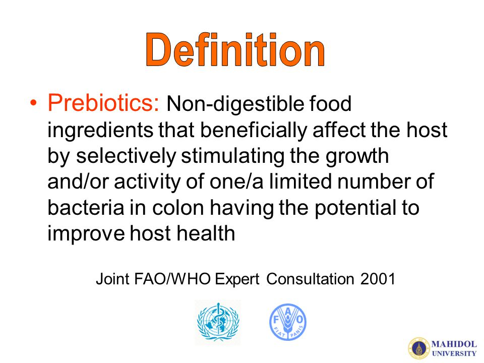 Joint FAO/WHO Expert Consultation 2001