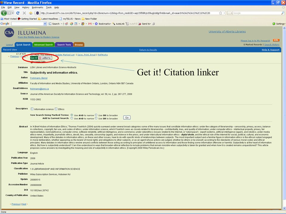 Get it! Citation linker 83 83
