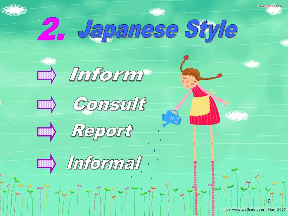 2. Japanese Style Inform Consult Report Informal