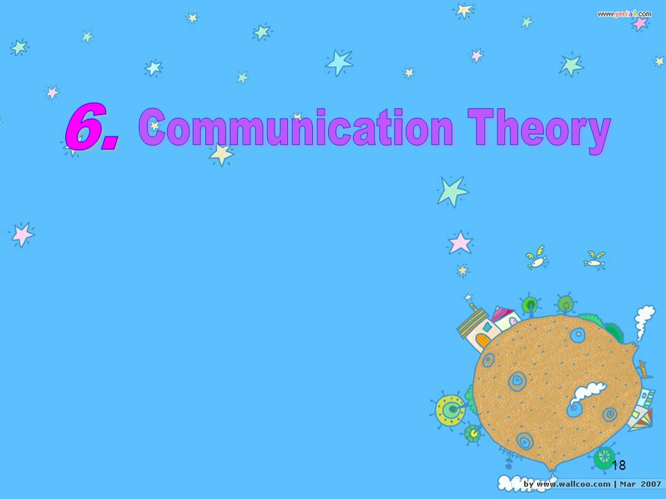 6. Communication Theory