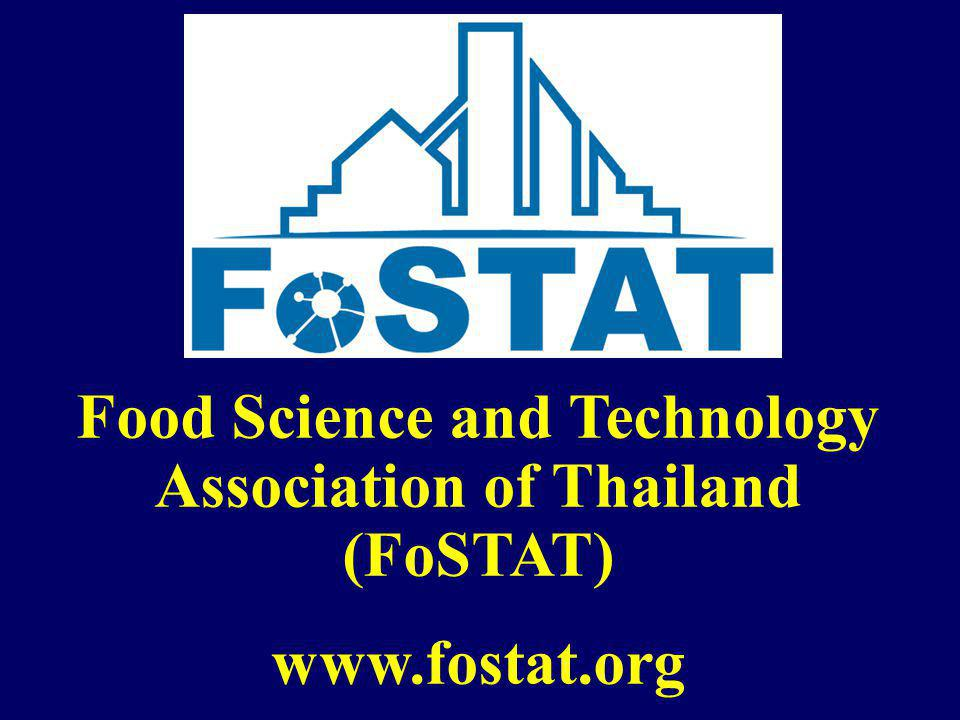 Food Science and Technology Association of Thailand (FoSTAT)