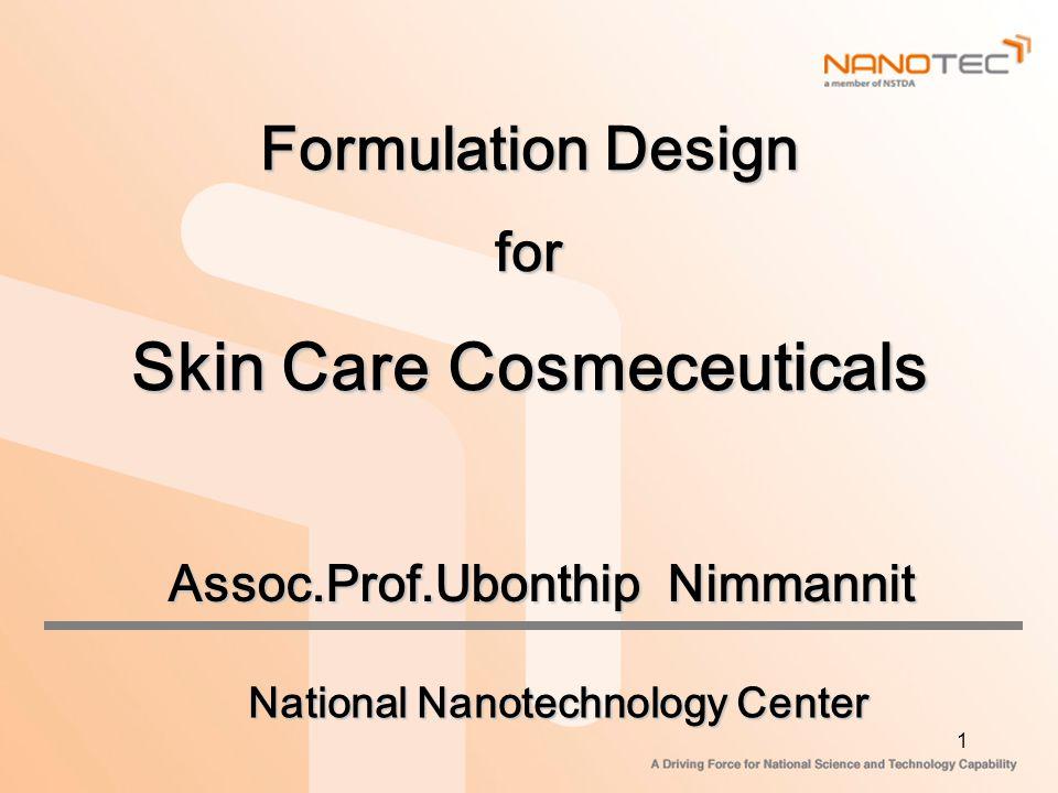 Skin Care Cosmeceuticals