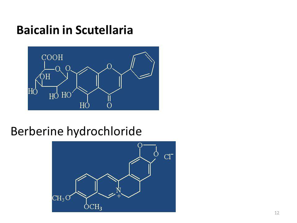 Baicalin in Scutellaria