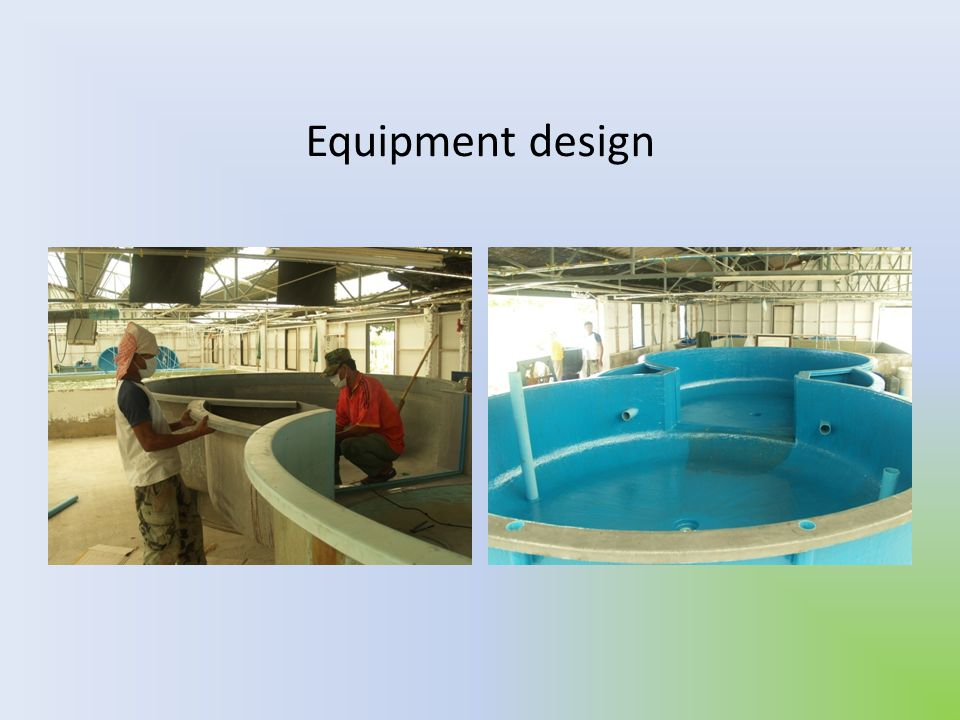 Equipment design