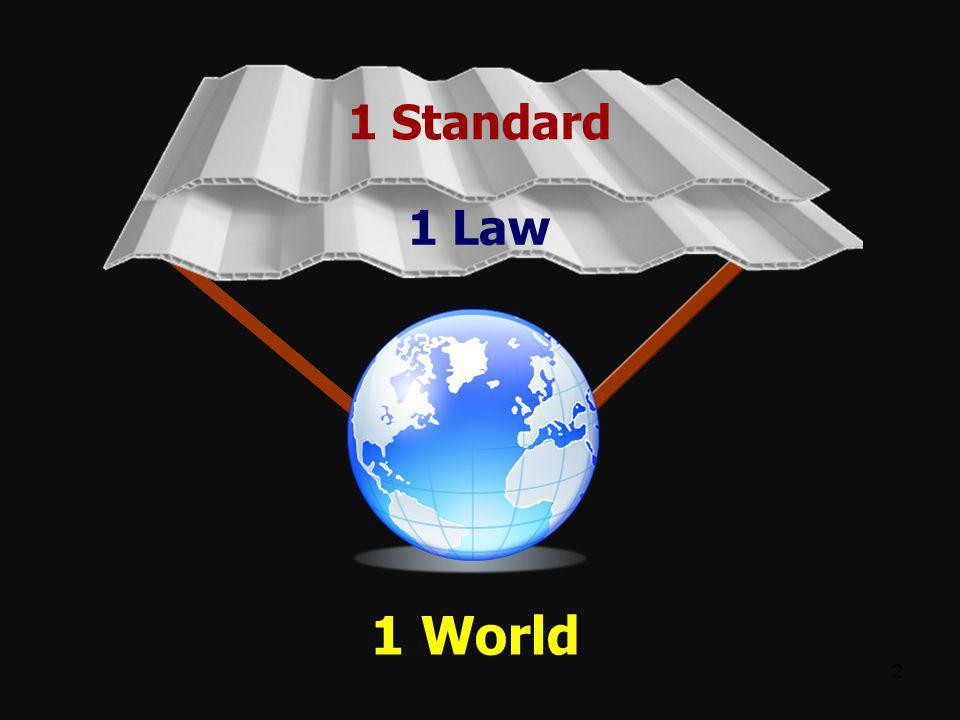 1 Standard 1 Law 1 World 2 2