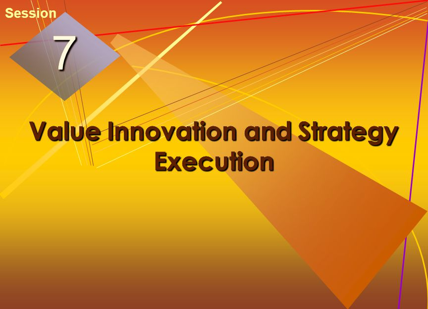 Value Innovation and Strategy Execution