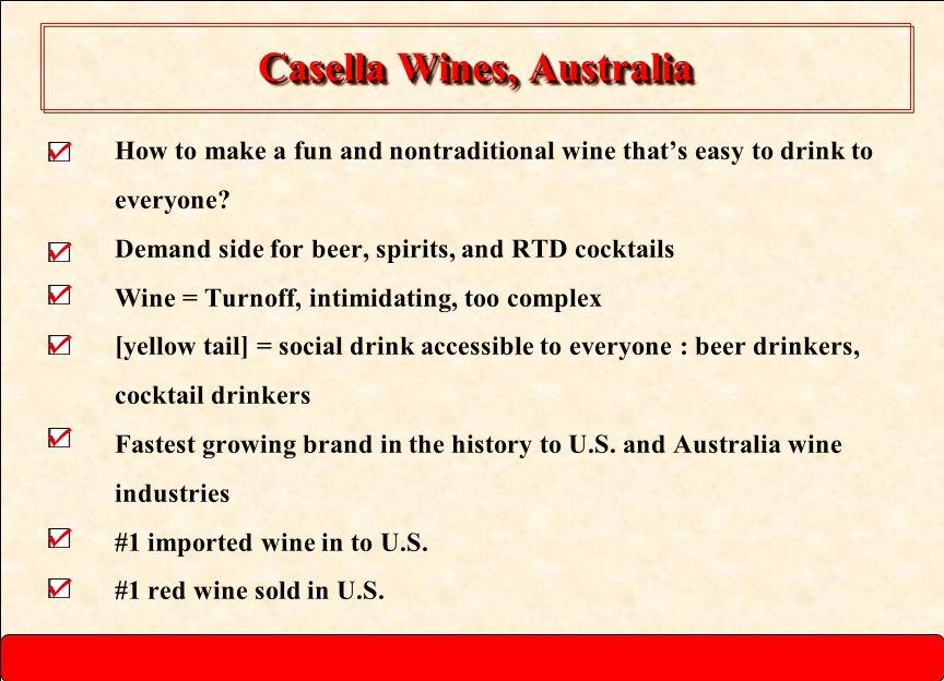 Casella Wines, Australia