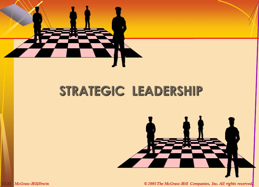 STRATEGIC LEADERSHIP McGraw-Hill/Irwin