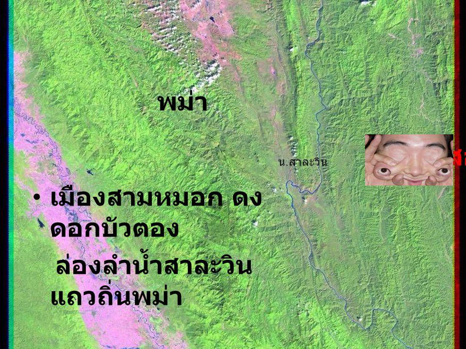 พม่า(สาละวิน)แม่ฮ่องสอน