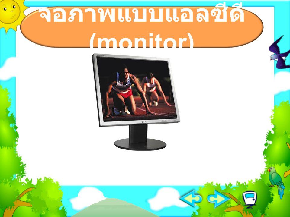 จอภาพแบบแอลซีดี (monitor)