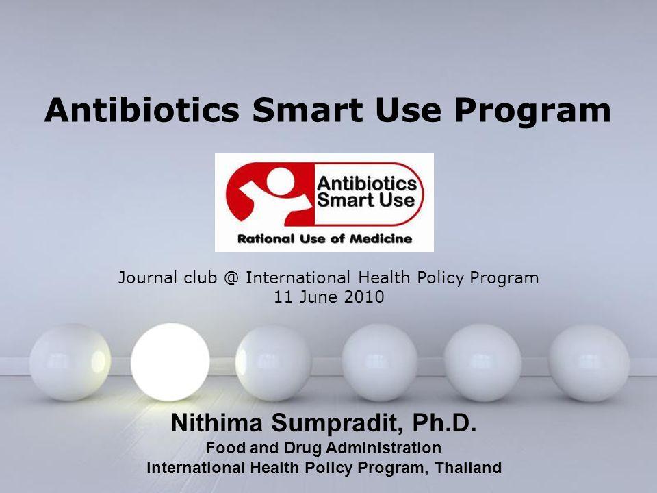 Antibiotics Smart Use Program