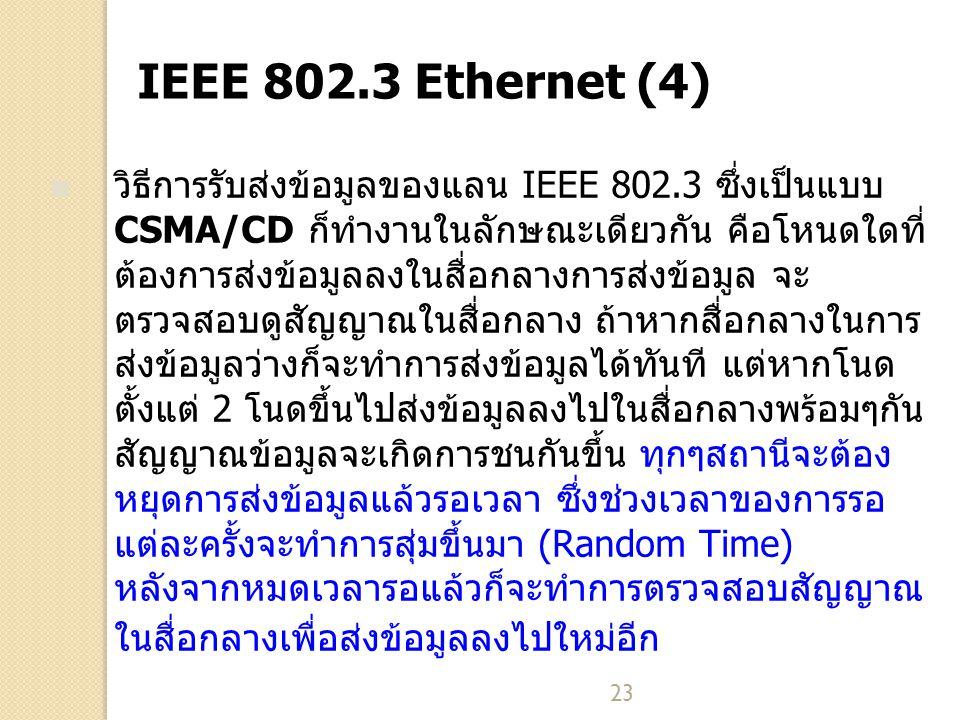 IEEE 802.3 Ethernet (4)
