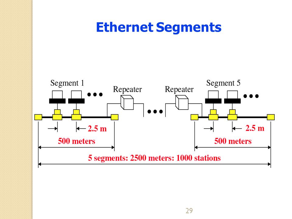 Ethernet Segments