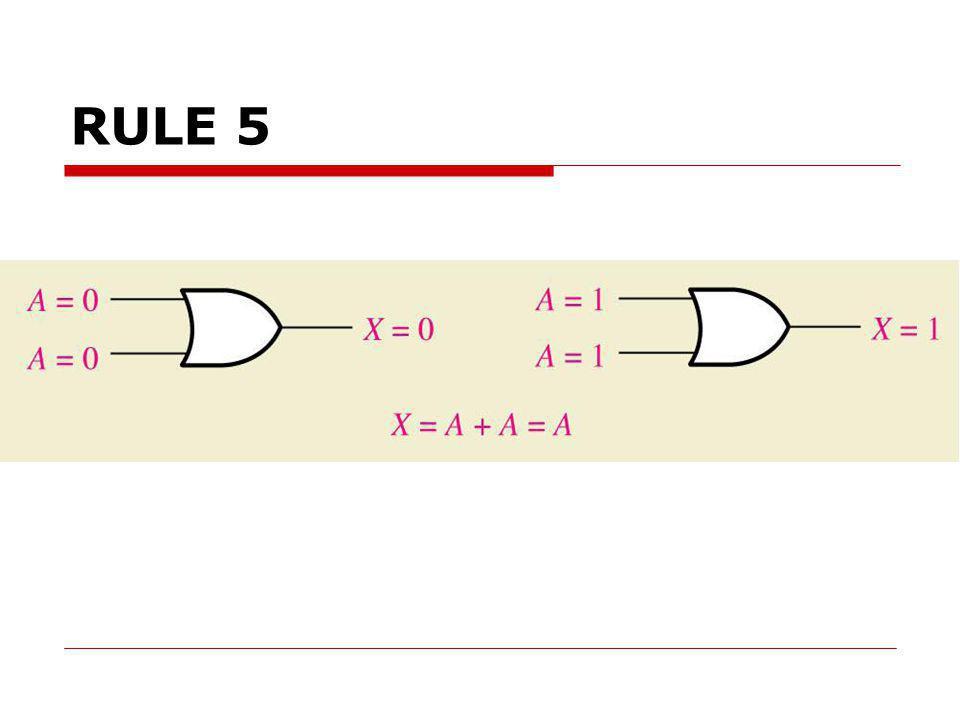 RULE 5