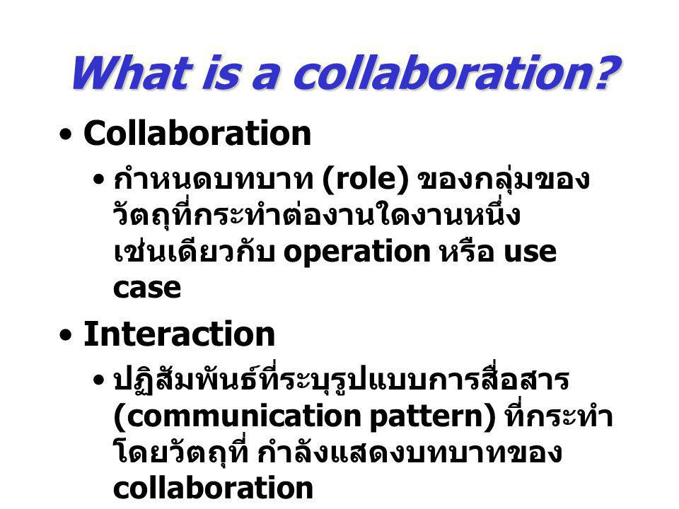 What is a collaboration