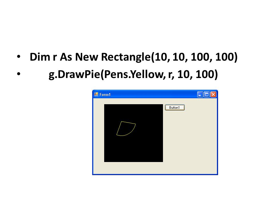 Dim r As New Rectangle(10, 10, 100, 100)