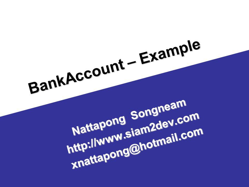 Nattapong Songneam http://www.siam2dev.com xnattapong@hotmail.com