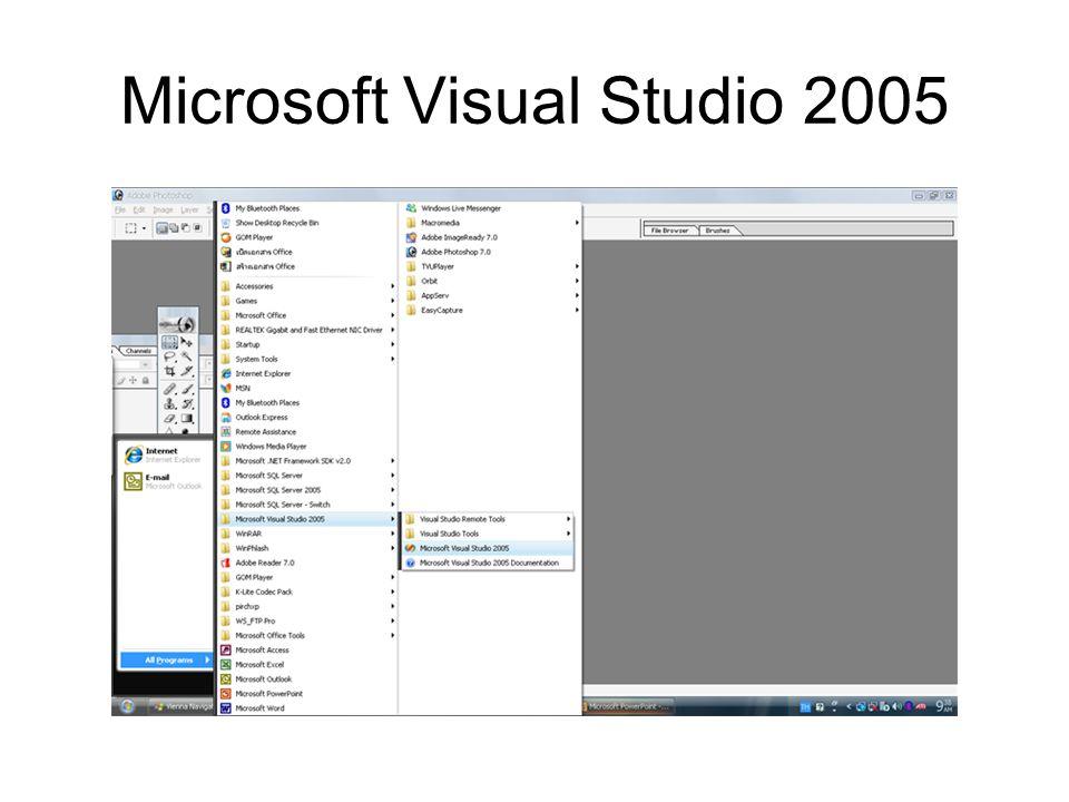 Microsoft Visual Studio 2005