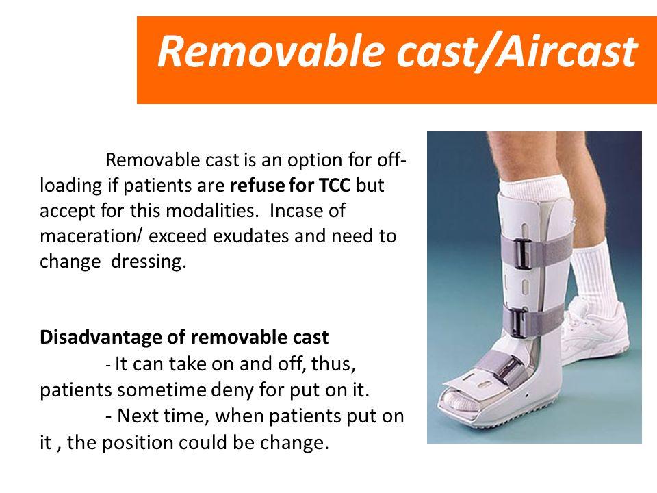 Removable cast/Aircast