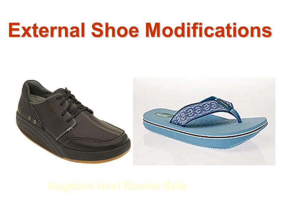 External Shoe Modifications