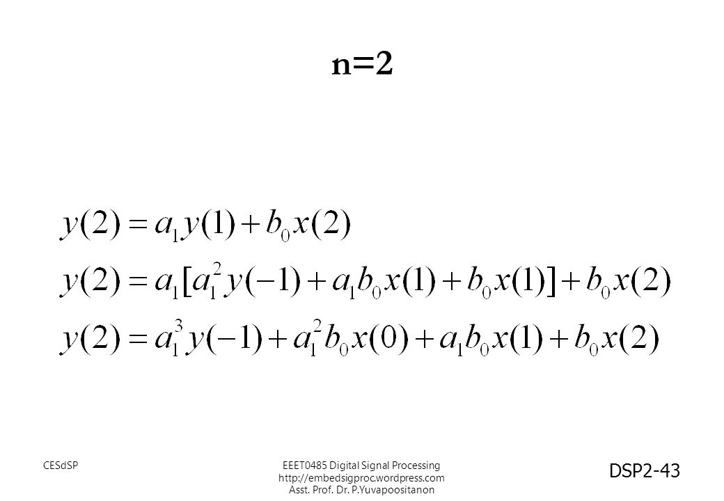 n=2 CESdSP.