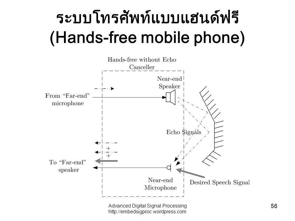 ระบบโทรศัพท์แบบแฮนด์ฟรี (Hands-free mobile phone)