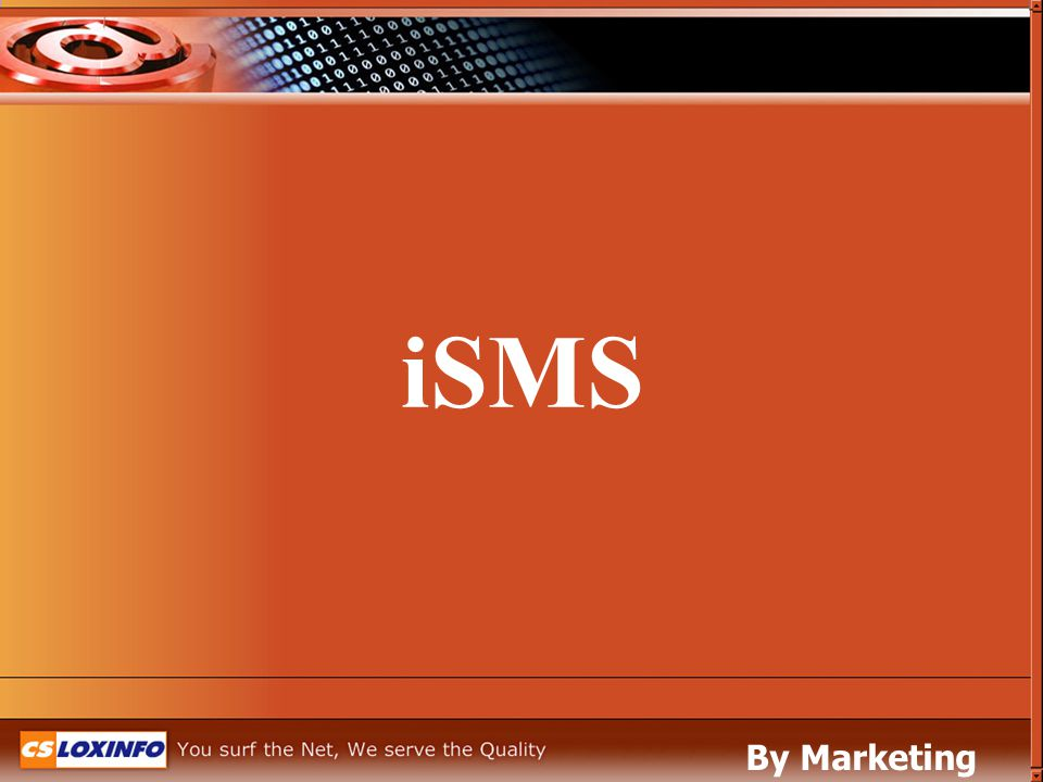 iSMS By Marketing Leased Line