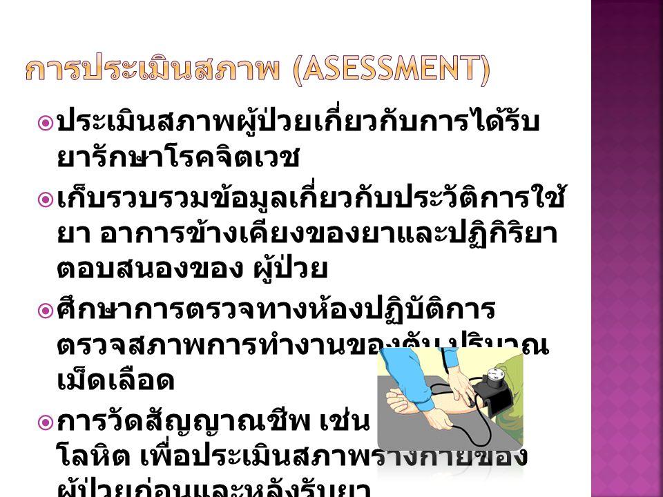 การประเมินสภาพ (Asessment)