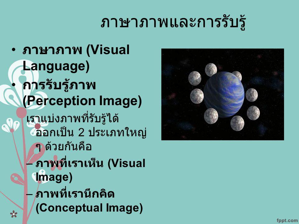 ภาษาภาพและการรับรู้ ภาษาภาพ (Visual Language)