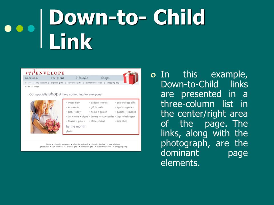 Down-to- Child Link