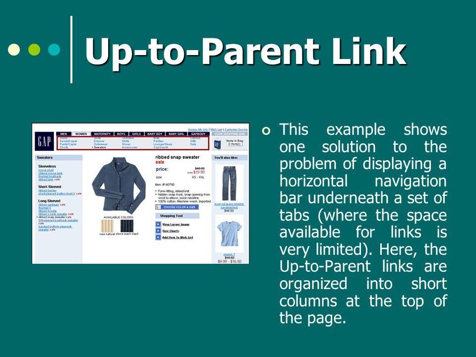 Up-to-Parent Link