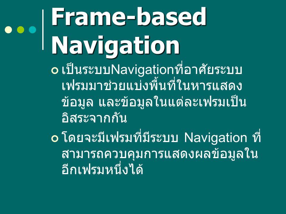 Frame-based Navigation