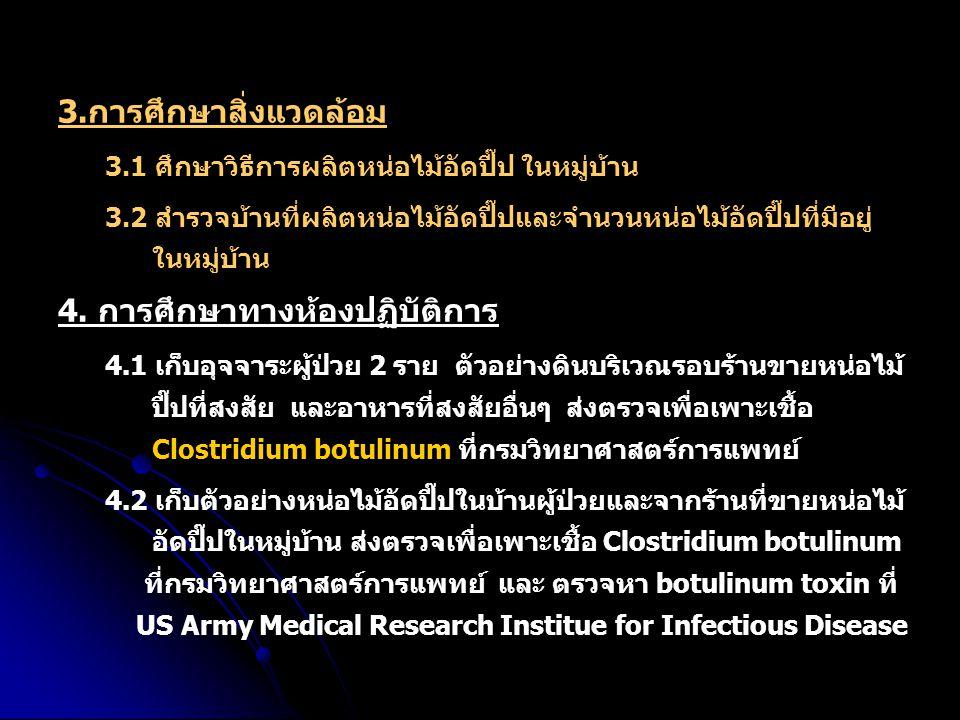 4. การศึกษาทางห้องปฏิบัติการ