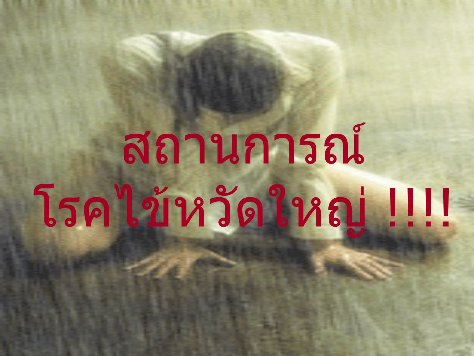 สถานการณ์ โรคไข้หวัดใหญ่ !!!!