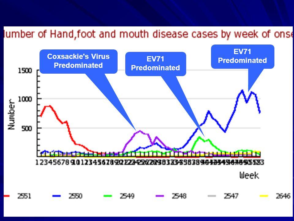 Coxsackie s Virus Predominated