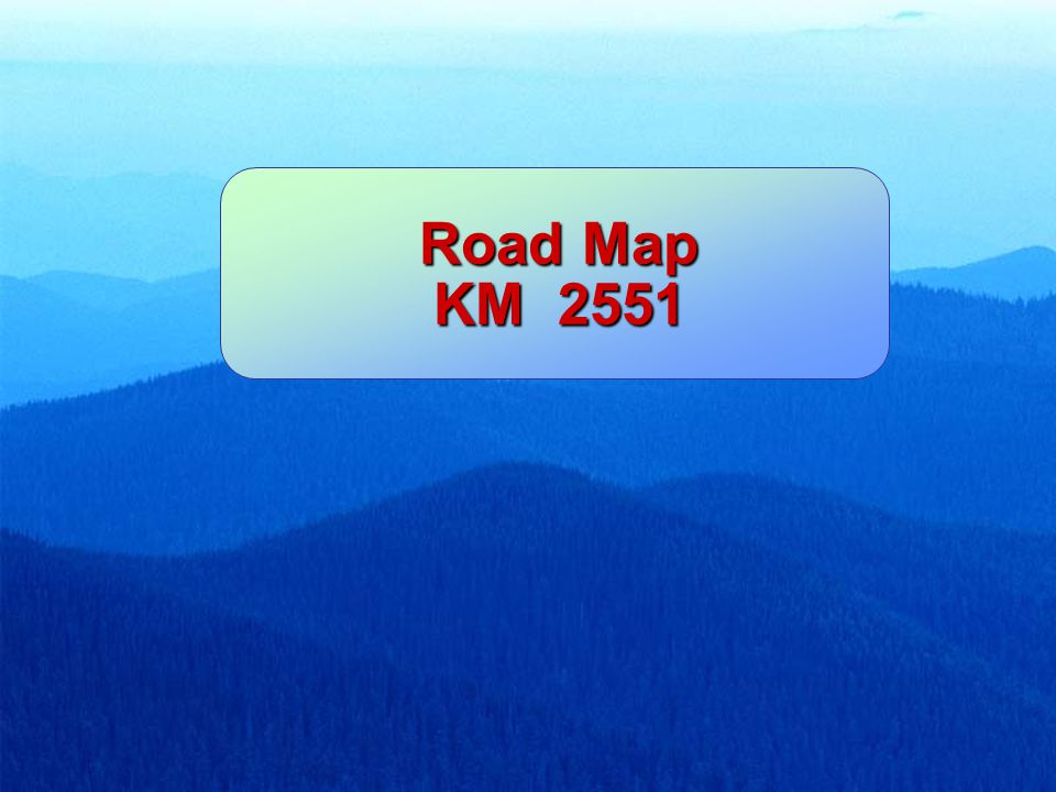 Road Map KM 2551