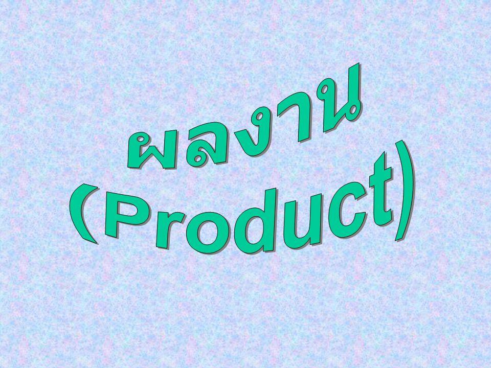 ผลงาน (Product)