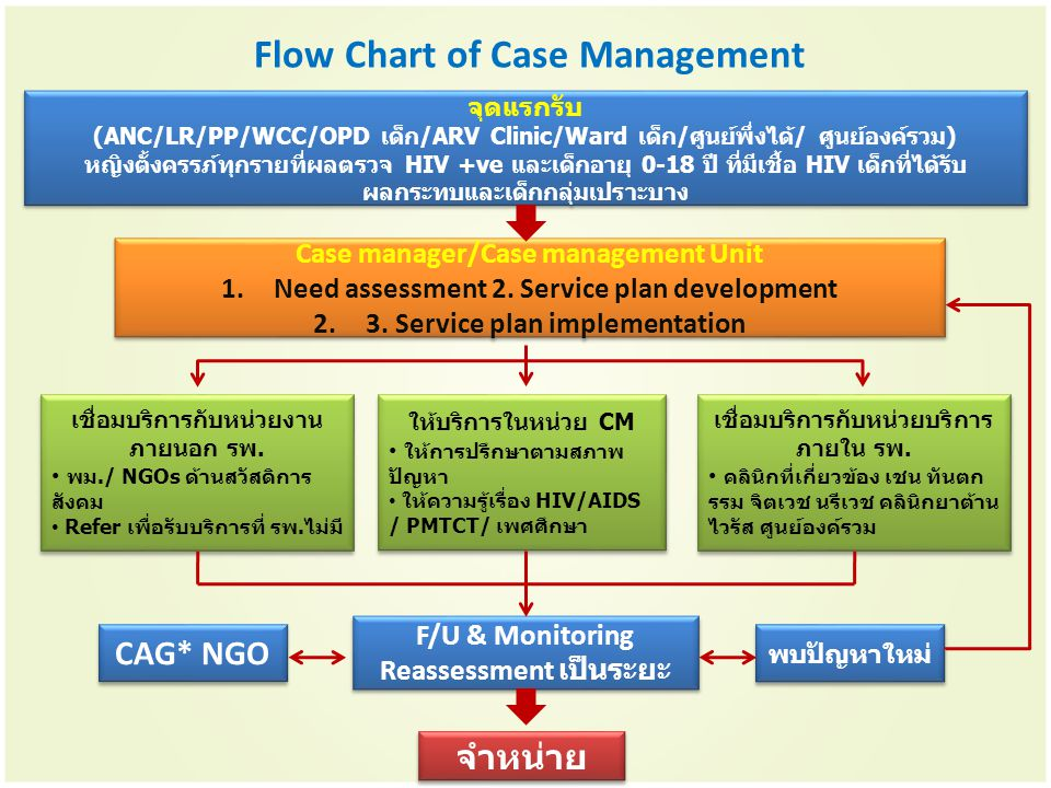 Flow Chart of Case Management