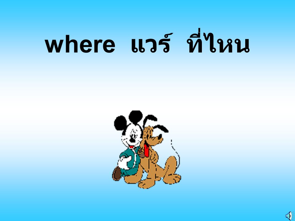 where แวร์ ที่ไหน