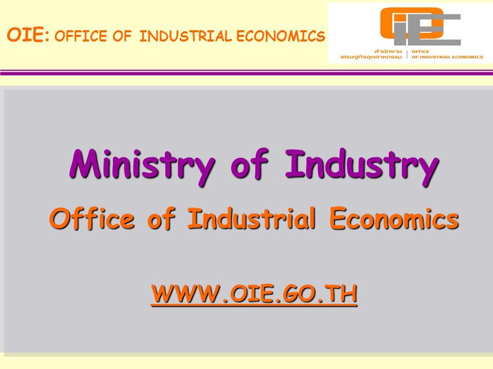 Office of Industrial Economics