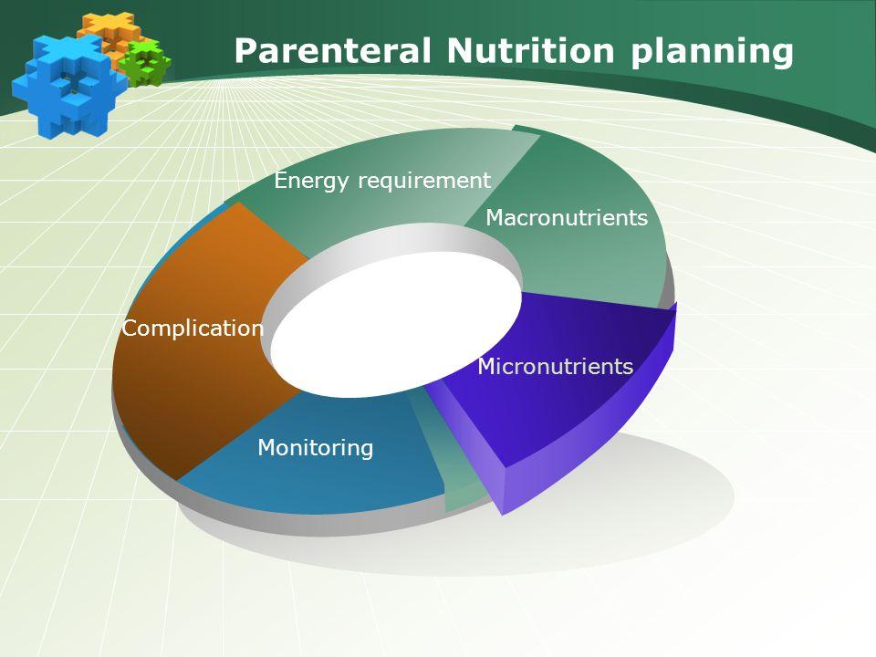 Parenteral Nutrition planning