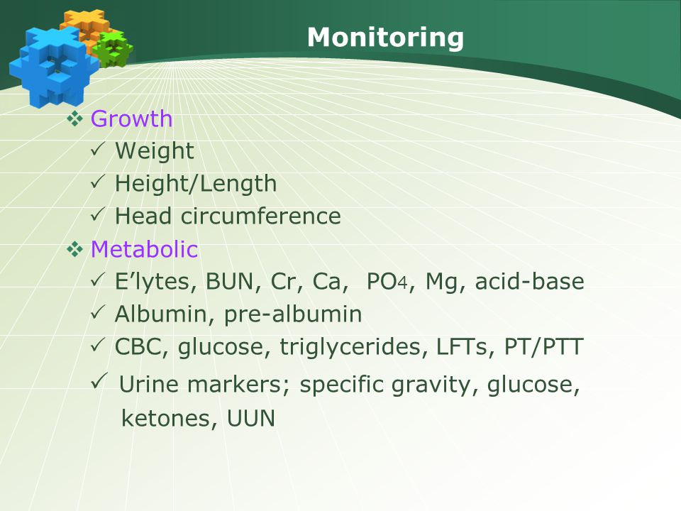 Monitoring Growth  Weight  Height/Length  Head circumference
