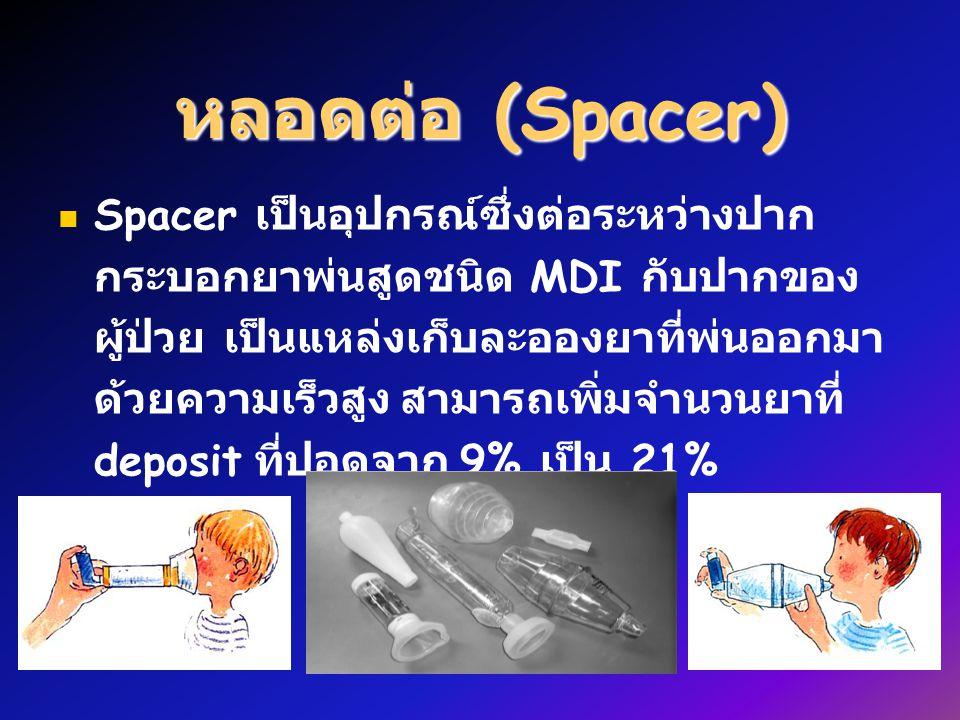 หลอดต่อ (Spacer)