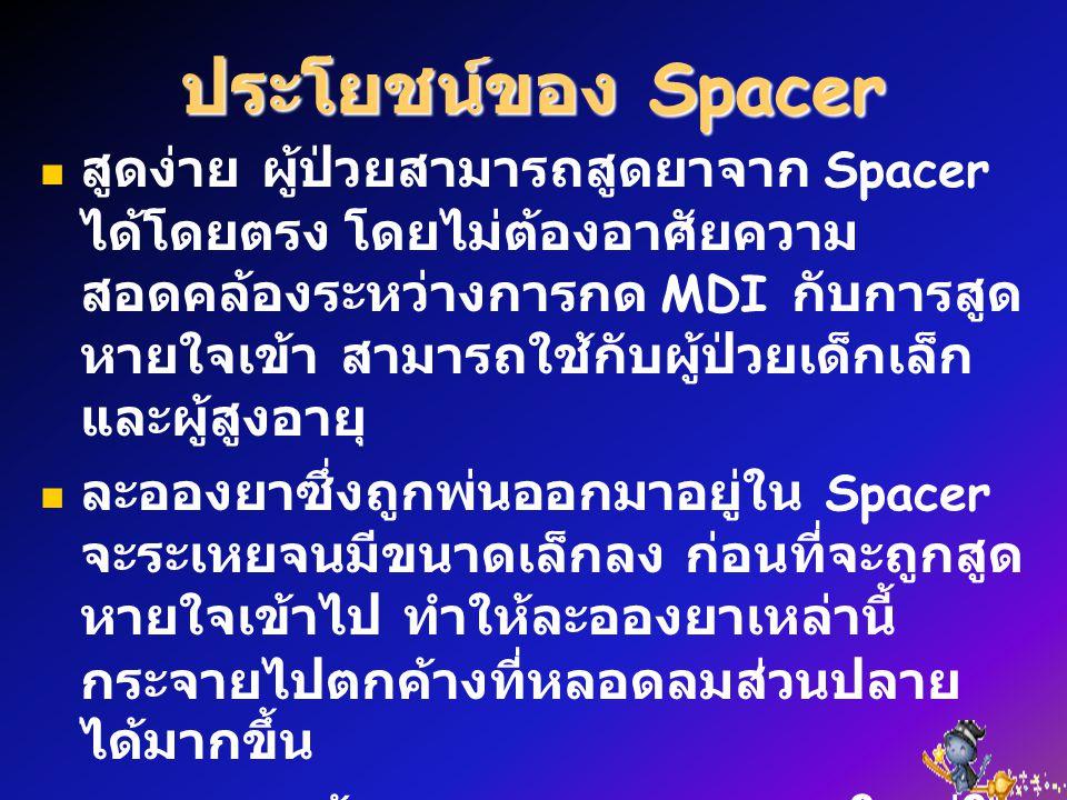 ประโยชน์ของ Spacer