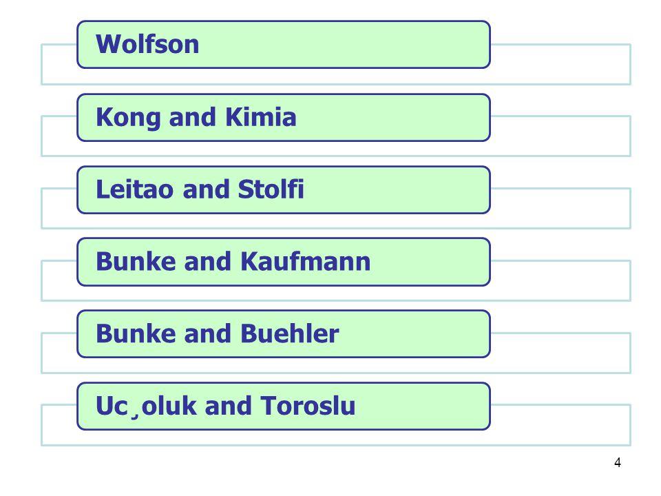 Wolfson Kong and Kimia Leitao and Stolfi Bunke and Kaufmann Bunke and Buehler Uc¸oluk and Toroslu