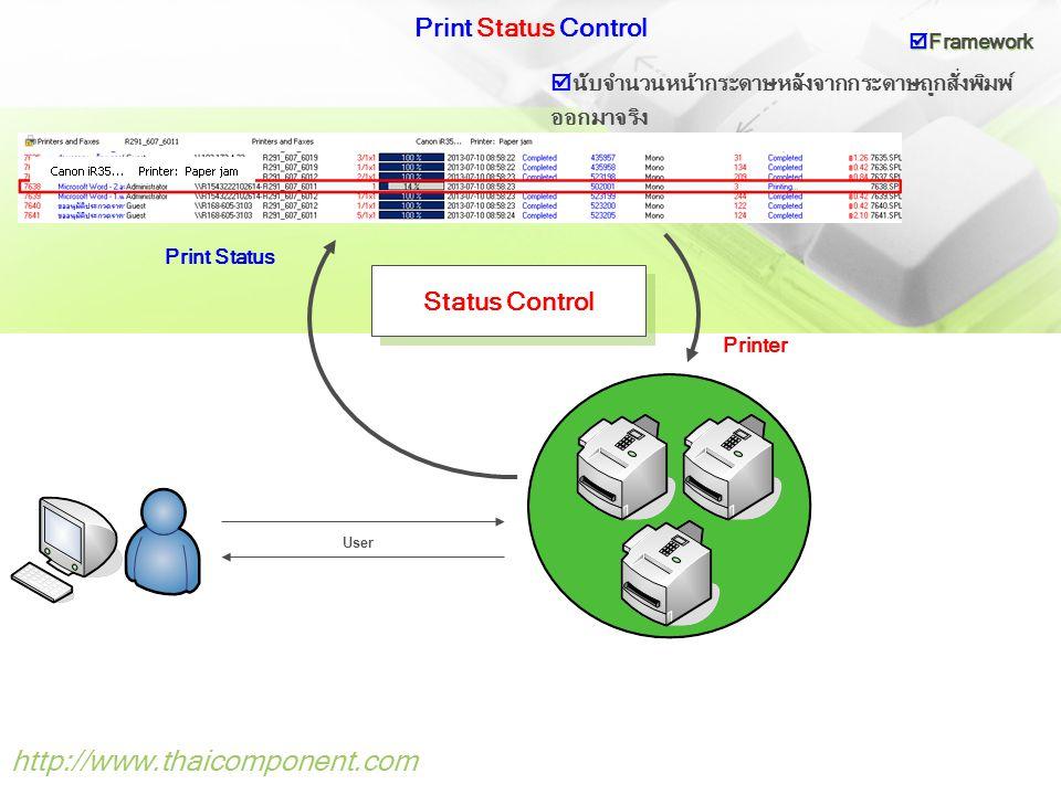 http://www.thaicomponent.com Print Status Control Status Control