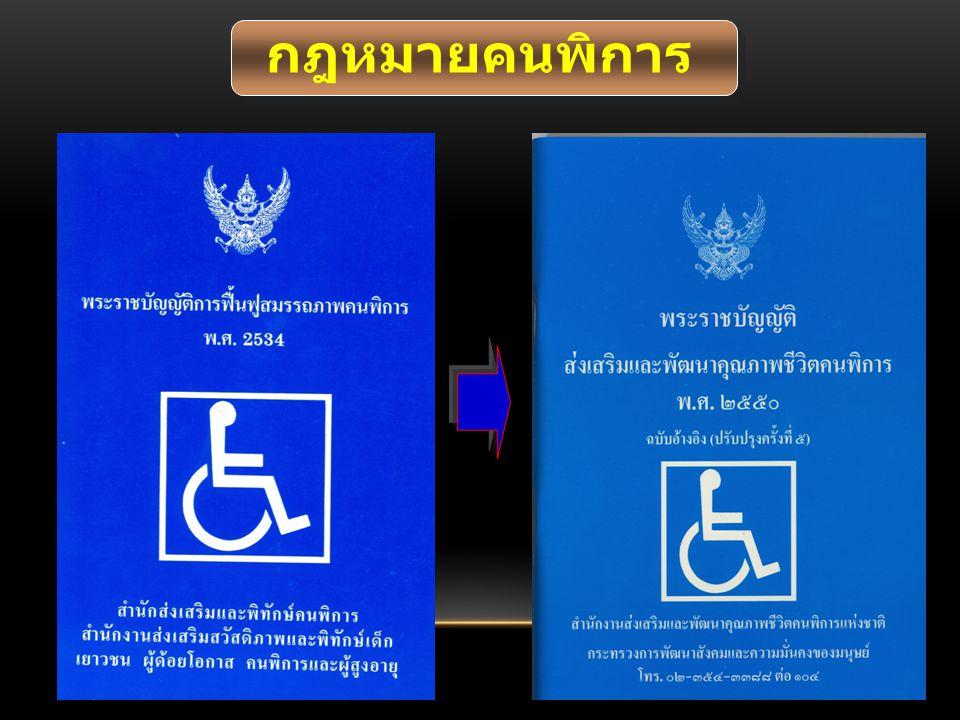 กฎหมายคนพิการ